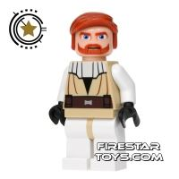 Product shot LEGO Star Wars Mini Figure - Clone Wars Obi-Wan Kenobi