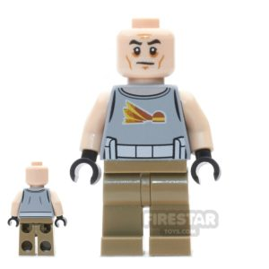 Product shot LEGO Star Wars Mini Figure - Commander Gregor