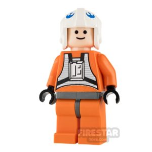 Product shot LEGO Star Wars Mini Figure - Dak Ralter - Light Flesh Head