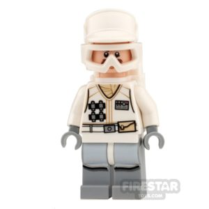 Product shot LEGO Star Wars Mini Figure -  Hoth Rebel Trooper - White Uniform 4