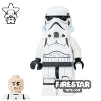 Product shot LEGO Star Wars Mini Figure - Stormtrooper - Printed Legs and Open Mouth