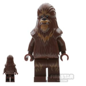 Product shot LEGO Star Wars Mini Figure - Wookiee