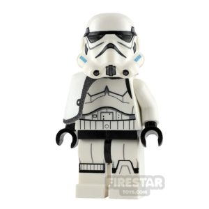 Product shot LEGO Star Wars Minifigure Stormtrooper Sergeant