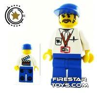 Product shot LEGO Studio Mini Figure - Cameraman