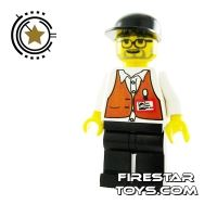 Product shot LEGO Studio Mini Figure - Director Spielberg