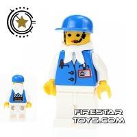 Product shot LEGO Studio Mini Figure - Female Assistant