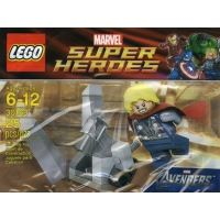Product shot LEGO Super Heroes 30163 - Thor and the Cosmic Cube