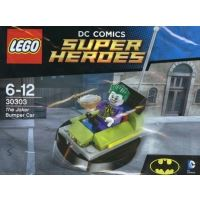 Product shot LEGO Super Heroes 30303 - The Joker Bumper Car