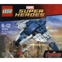 Product shot LEGO Super Heroes 30304 - The Avengers Quinjet