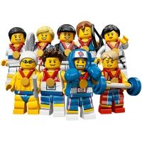Product shot LEGO Team GB Olympic Minifigures - Complete Set of 9