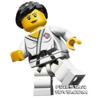 Product shot LEGO Team GB Olympic Minifigures - Judo Fighter