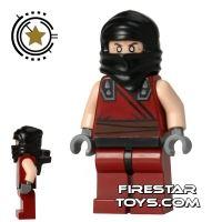 Product shot LEGO Teenage Mutant Ninja Turtles Mini Figure - Dark Ninja