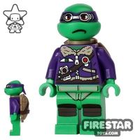 Product shot LEGO Teenage Mutant Ninja Turtles Mini Figure - Donatello - Purple Jacket