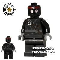 Product shot LEGO Teenage Mutant Ninja Turtles Mini Figure - Foot Soldier - Black Outfit
