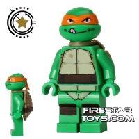Product shot LEGO Teenage Mutant Ninja Turtles Mini Figure - Michelangelo