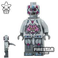 Product shot LEGO Teenage Mutant Ninja Turtles Mini Figure - The Kraang - Gray Exo-Suit Body