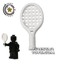 Product shot LEGO - Tennis Racket - White