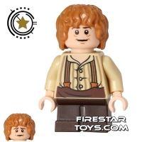 Product shot LEGO The Hobbit Mini Figure - Bilbo Baggins