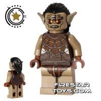 Product shot LEGO The Hobbit Mini Figure - Hunter Orc