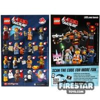 Product shot LEGO - The LEGO Movie Minifigures Collectable Leaflet