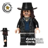 Product shot LEGO The Lone Ranger Mini Figure - Butch Cavendish