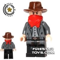 Product shot LEGO The Lone Ranger Mini Figure - Kyle