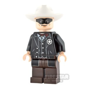 Product shot LEGO The Lone Ranger Mini Figure - The Lone Ranger