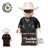 Product shot LEGO The Lone Ranger Mini Figure - The Lone Ranger - Mine Outfit