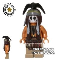 Product shot LEGO The Lone Ranger Mini Figure - Tonto
