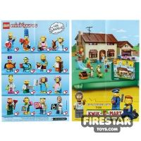 Product shot LEGO - The Simpsons Minifigures 2 Collectable Leaflet