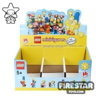 Product shot LEGO - The Simpsons Minifigures 2 Collectable Shop Display Box