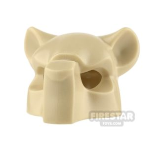 Product shot LEGO - Tiger Headcover - Tan