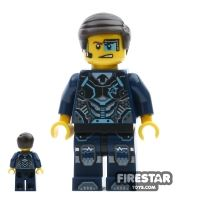 Product shot LEGO Ultra Agents Minifigure Agent Curtis Bolt