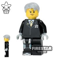Product shot LEGO Ultra Agents Mini Figure - Agent Solomon Blaze