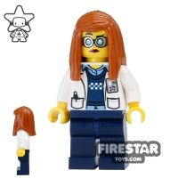 Product shot LEGO Ultra Agents Mini Figure - Professor Christina Hydron