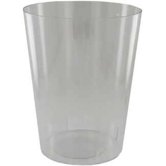 Product shot Large Cylinder Clear Plastic Candy Vase
