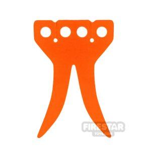Product shot Lego Cape - Coattails - Orange