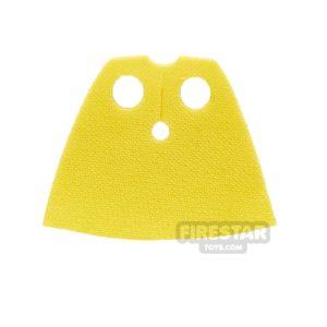 Product shot Lego Cape - Short Spongy Stretchable - Yellow