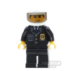 Product shot Lego City Mini Figure – Police - White Helmet