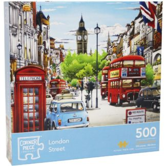 Product shot London Street 500 Piece Jigsaw Puzzle