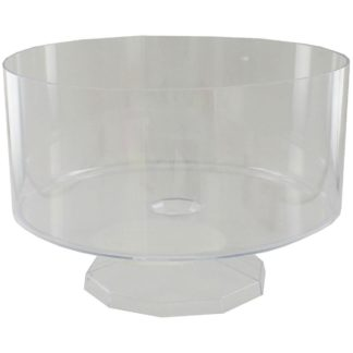 Product shot Medium Trifle Clear Plastic Candy Dish