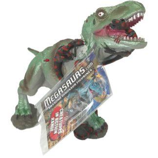 Product shot Metallic Green T Rex Dinosaur Figurine