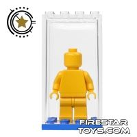 Product shot Minifigure Display Case - Blue Base