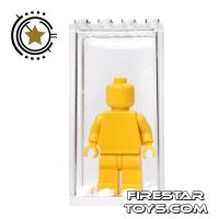 Product shot Minifigure Display Case - White Base