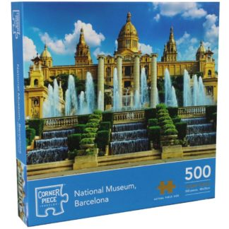 Product shot National Museum Barcelona 500 Piece Jigsaw Puzzle