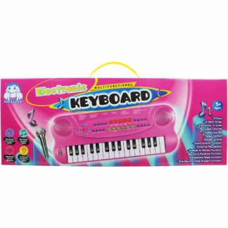Product shot Pink Electronic Keyboard