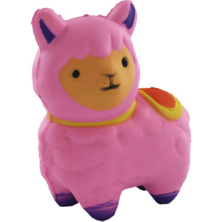 Product shot Pink Llama Squishems Toy