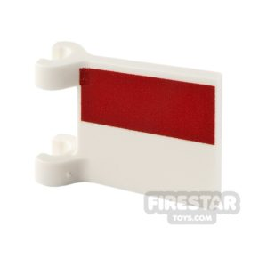 Product shot Printed Flag with 2 Holders 2x2 Polish Flag