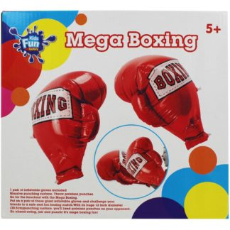Product shot Red Inflatable Mega Boxing