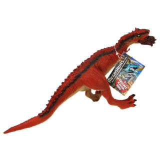 Product shot Red Tyrannosaurus Rex Dinosaur Figurine